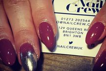 Nail Crew UK Love a bit of chrombre  #chromenails #ombre #nailsoftheday #brightonlife #nailcrewuk #nailswag #latenightnails