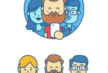 nyuszo character designs