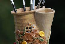 houses ceramics