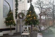 Hjemmelagde Juletrær