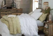 All About Down! / Inspiration on Down comforters, throws, pillows, and more!