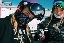 Wintersport with friends❤️