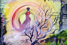 Obrazy - Žena