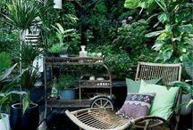 Záhradný interier