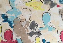 ingen nämnd ingen glömd / En serie målningar om vänner  och ovänner jag mött på sex  olika arbetsplatser under åren  1988 - 2015  15/10 17-20 Galleriet Linnégatan/ House of hairdressers Linnegatan 9-11  Utställningen pågår  från 12/10 - 20/11