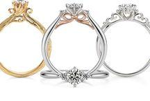 Mix Diamond  rings