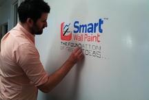 Smart wall paint