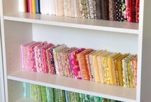 Como guardar las telas de patchwork