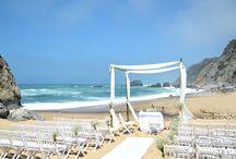Real Weddings | Kimmy&Dirk - April 2014 / Uma cerimónia de morrer na Praia da Adraga e um romântico copo de água no jardim da The Quinta | Amazing ceremony at the Adraga Beach and a lovely reception at The Quinta's Garden http://portugalweddingguide.com/blog/2014/04/11/a-rustic-wedding-in-the-quinta-my-vintage-wedding-portugal/