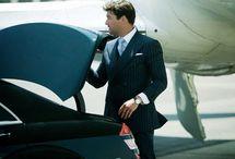 Distinguished Gentleman / Suits, jets, cars