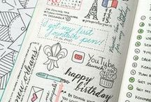 Bullet Journaling & Planners