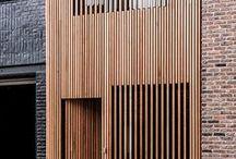 houten gevels