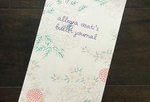 pen + paper / Bullet journal inspiration