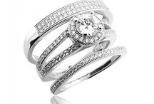 Trio Wedding Sets / Trio wedding sets for your special day #MidwestJewellers #TrioWeddingSet