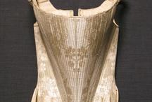Antique corsets