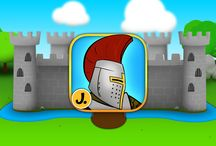 Sticker Play: Knights, Dragons and Castles / Interactive stickerbook for kids with sounds and animations offers a lot of creative fun. Available on iPad and iPhone.