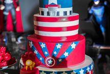 Tema de festa capitão america