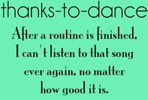 thanks to dance + dance problems