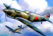 ARTWORK - WW2 & KOREA AIRCRAFTS