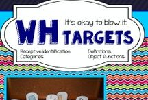 AUDITORY COMPREHENSION / Activities, resources and ideas for auditory comprehension.