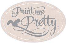 This is Print me Pretty / Where you can print your own (or someone else's) design onto fabric