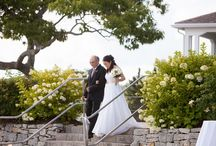 Olivia + Brett: Real French's Point Maine Coastal Wedding / Real Maine wedding at the waterfront estate of French's Point on the coast with amazing views of the ocean.