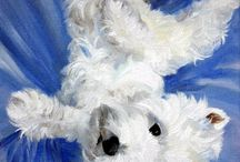 Dog art / Animals  are amazing.  Art also.