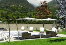 Progetto per giardino per agriturismo / Render per giardino e spazi verdi