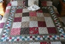 Doble bed cover patchwork