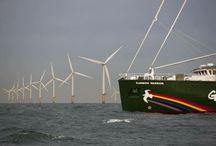 Rainbow Warrior / Greenpeace's eco-friendly battle ship - a thing of beauty