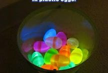 Easter / Glow stick eggs