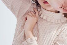 Vintage style knitwear