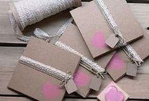 Packaging! / Ideas sobre como hacer cajitas para detalles de eventos, regalillos y decoración.