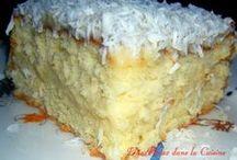 gâteau mon blanc