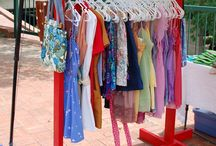 Clothes display / by Christina Sabourin