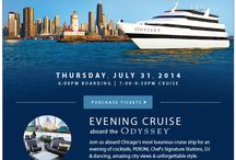 "Style Chicago presents ""Cruise In Style"" July 31, 2014 / Board the cruise ship Odyssey on Thursday, July 31, 2014 for a romantic 3-hour dinner and fashion show featuring fine dining and designs from ricorso."