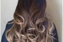Balayage - a French hair coloring technique for natural looking highlights / 'Balayage' means 'to sweep' in French. It's a very artistic and freehand technique where the hair color is applied by hand sweeping for a more natural effect.  Mainly used to get a sun-lightened effect.