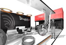 FORGITAL FROUP - Render Project / Custom booth project for Forgital Group used in various european shows