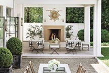 Outdoor Living / The comforts of interior living combined with the beauty of the outdoors.