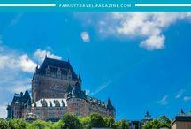 Canada With Kids / Things to do during family vacations in Canada, including national parks, sightseeing, and more. Posts including Quebec City, Nova Scotia, Saint John, and more family travel destinations.