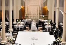 special wedding table setting