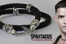 Spartacus Gladiator Necklaces Collection by Silverlab / Women's jewelry replicas of the TV series, Spartacus - handcrafted by Silverlab Workshop.  Women's Jewelry | Handmade Jewellery | TV Shows | Entertainment | Women's Fashion