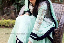 Mint Green Color Indian Saree
