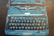 Linoleum druk