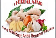 3 Herbal Ajaib Untuk Umur Panjan