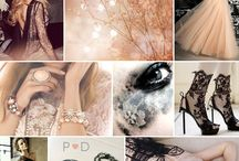 Mood Board - Black & Blush