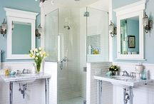 Bathroom ideas / by Yvonne Condes