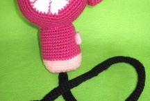 Amigurumi:Toys / Making the cutest little toys by crafting shapes and creating little animals, monsters, dolls, anything.  It sure has caught on like gang busters. Here are some great inspirations and resources.