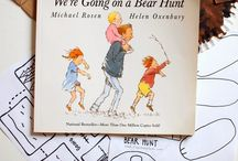 We're going on a bear hunt activities