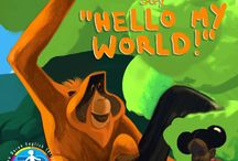 """Hello My World / Copiii din întreaga lume s-au unit pentru a spune """"Hello My World!""""  Ei vin din locuri cu tradiții și culturi diferite, dar totuși, aceștia au descoperit că au ceva în comun: fiecare din ei învață limba engleză și astfel au oportunitatea de a fi activi și de a-i ajuta pe ceilalți. """"Hello My World!"""" este o inițiativă unică a copiilor de a ajuta urangutanii, o specie de animale pe cale de dispariție. """"Hello My World"""" marchează aniversarea de 30 de ani de activitate Helen Doron English."""